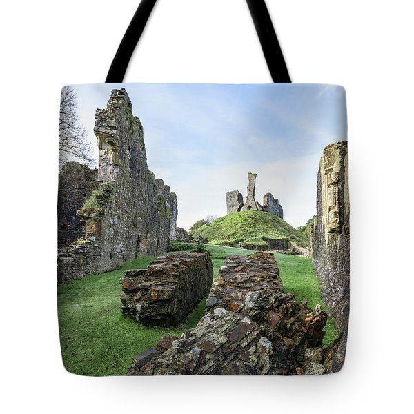 Okehampton Castle - England Tote Bag