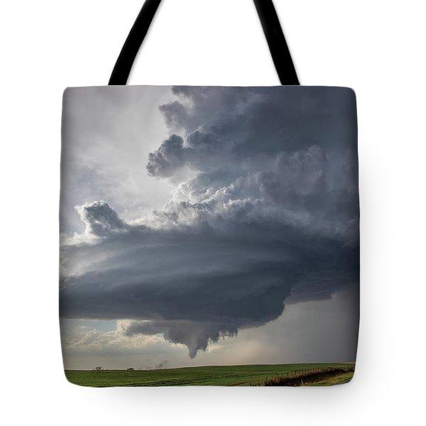 Oklahoma Panhandle Swirl Tote Bag