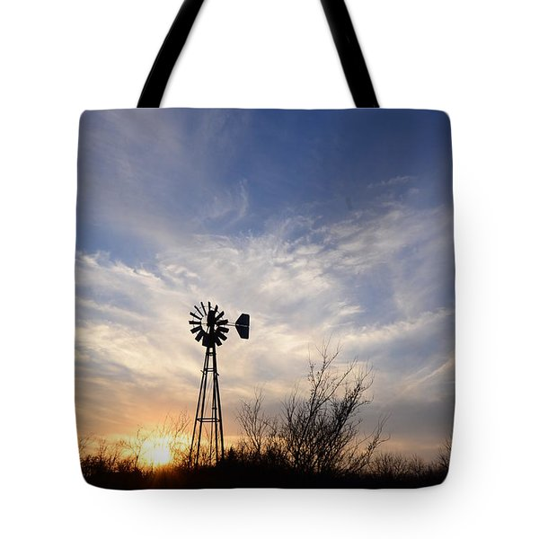 Oklahoma Skies Tote Bag