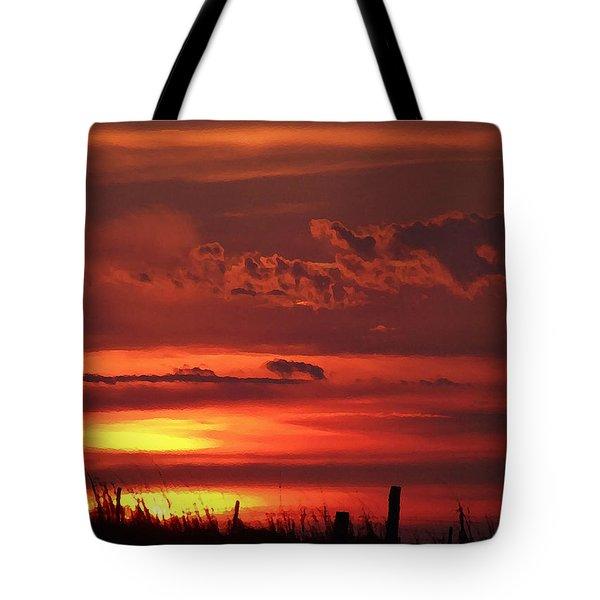 Oklahoma Sky At Daybreak  Tote Bag