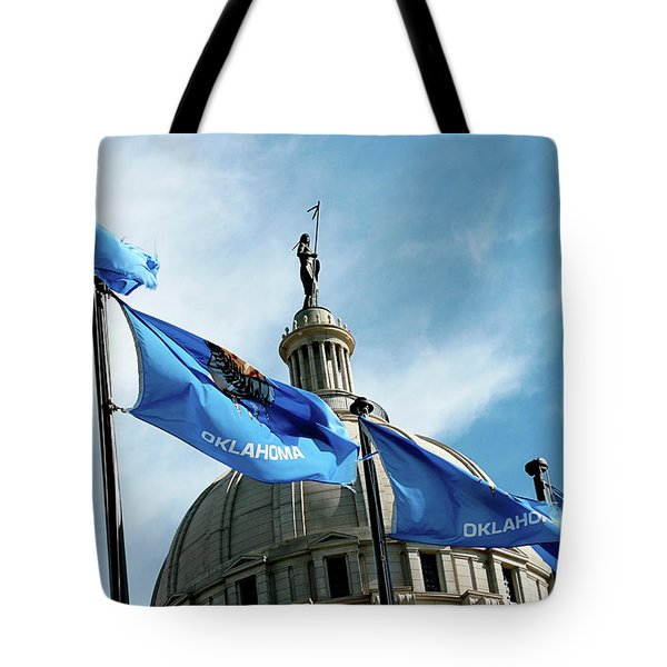 Oklahoma  Tote Bag by Toni Hopper