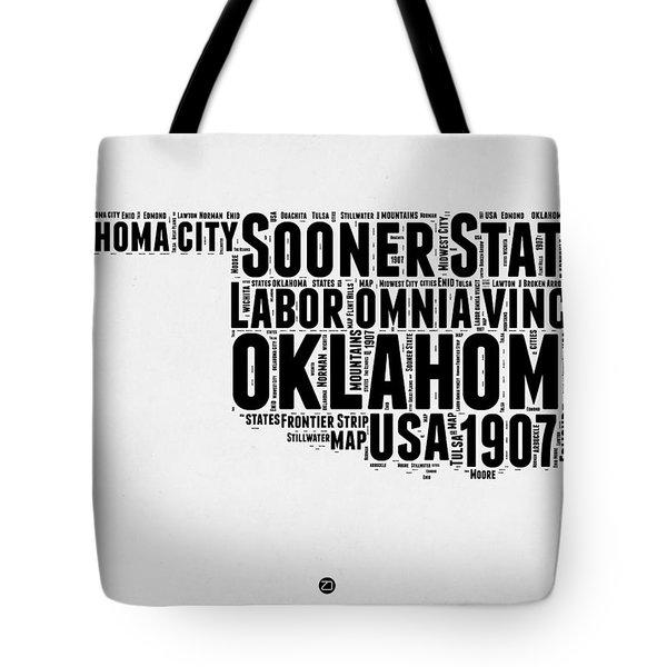 Oklahoma Word Cloud 2 Tote Bag