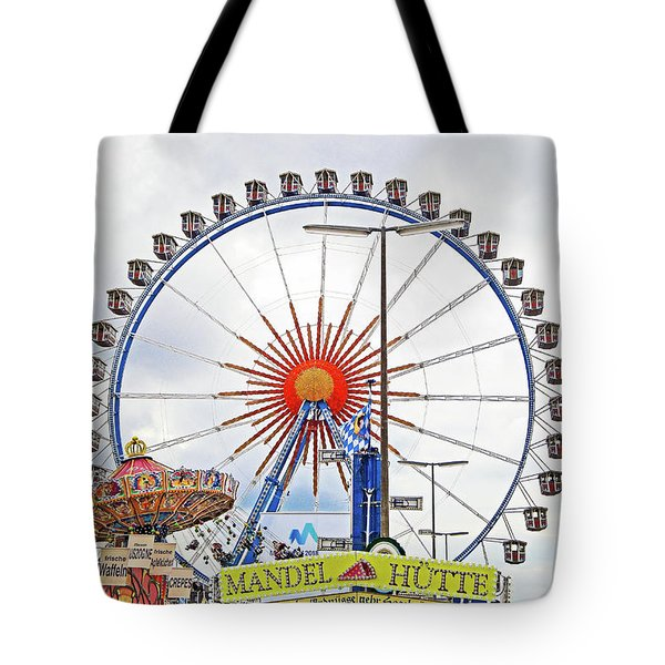 Oktoberfest 2010 Munich Tote Bag by Robert Meyers-Lussier