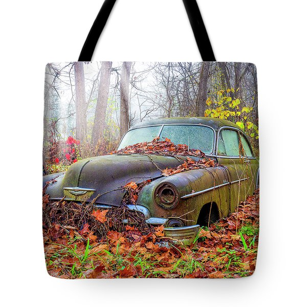 Ol' 49 Chevy Coupe Tote Bag