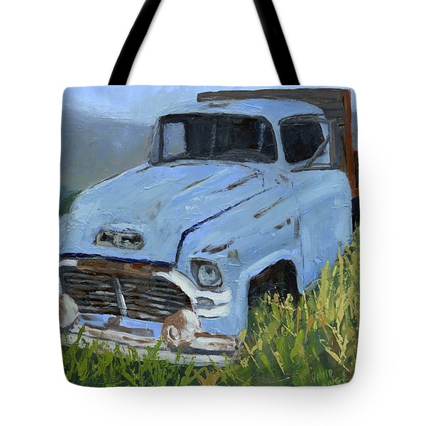 Ol' Blue Tote Bag