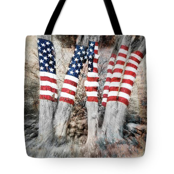 Ol Glory - By Thomas Schoeller Tote Bag
