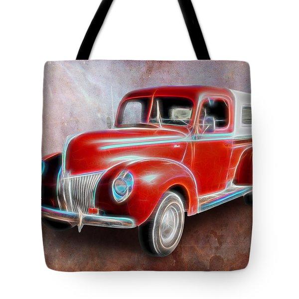 Ol' Skool Camper Tote Bag