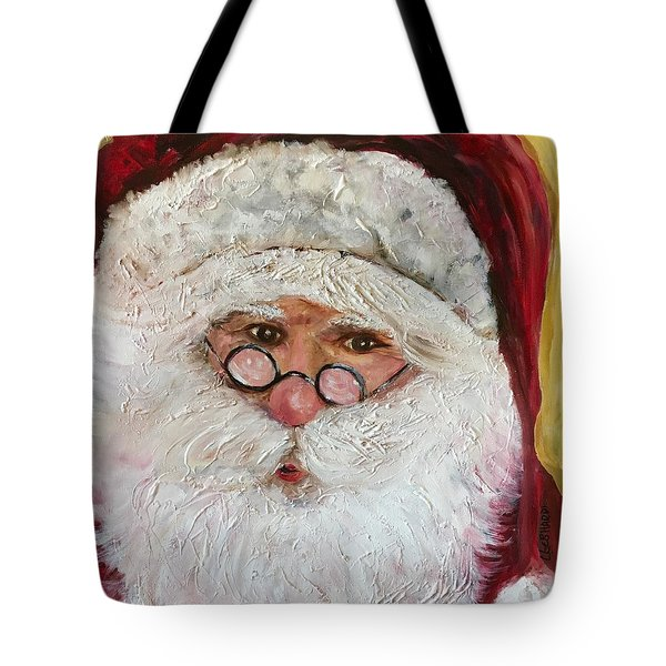 Magical O'l St. Nick Tote Bag