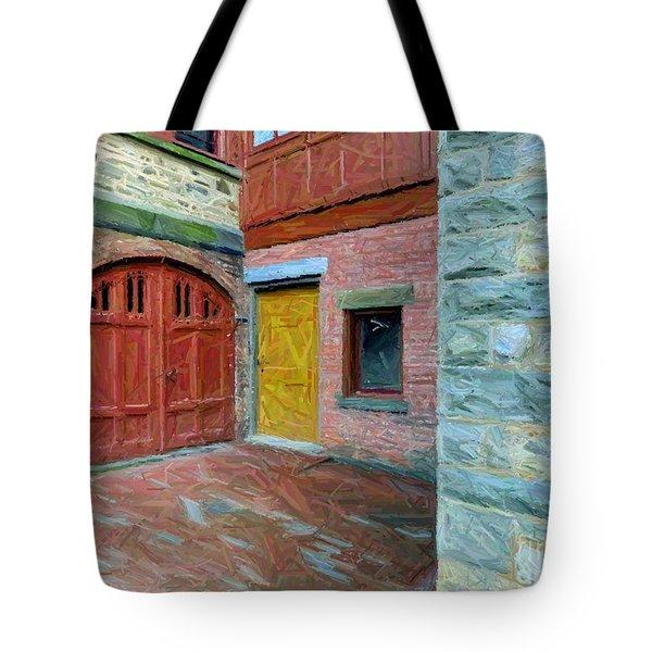 Olana Castle  Tote Bag