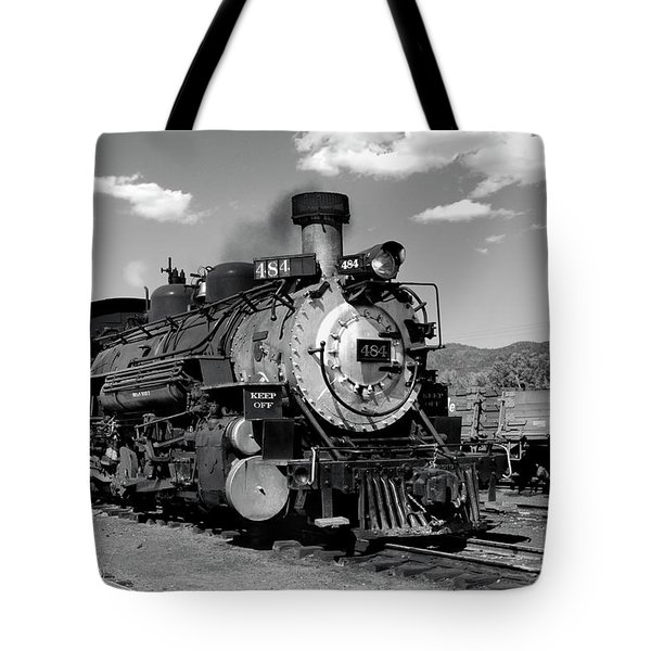 Tote Bag featuring the photograph Old 484 I by Ron Cline
