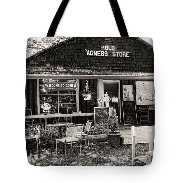 Tote Bag featuring the photograph Old Agness Store by Hugh Smith