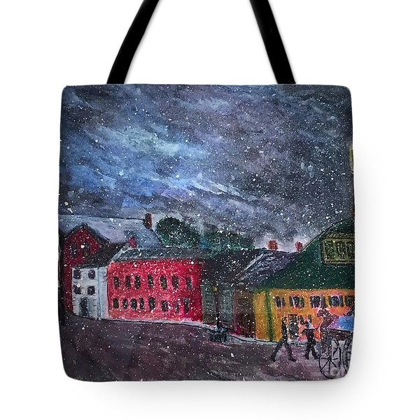 Old Amesbury Early Winter Tote Bag