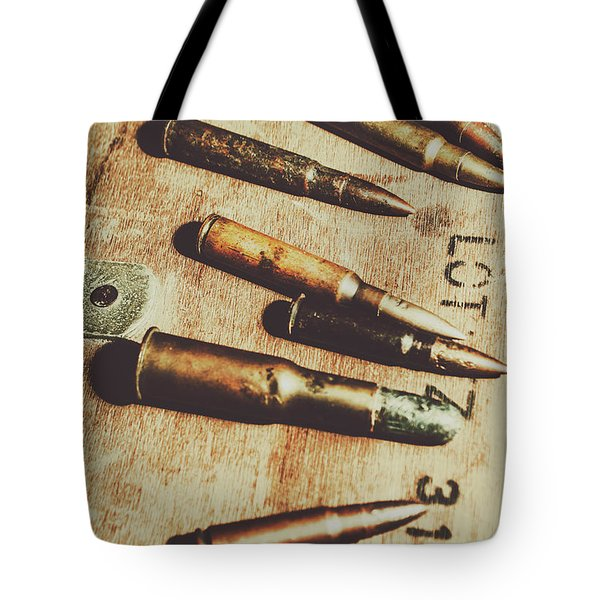Old Ammunition Tote Bag