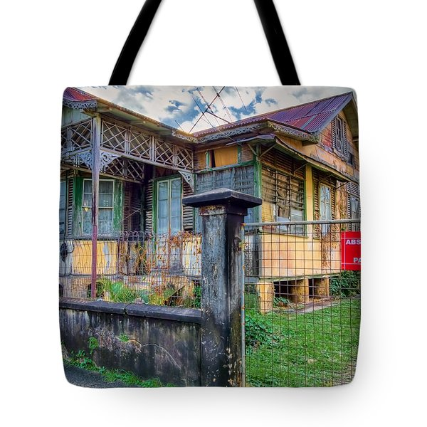 Old And Alive Tote Bag