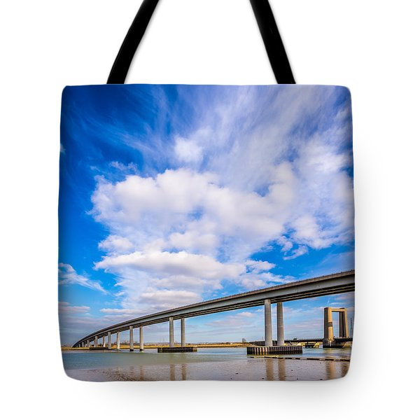 Old And New Bridges Tote Bag