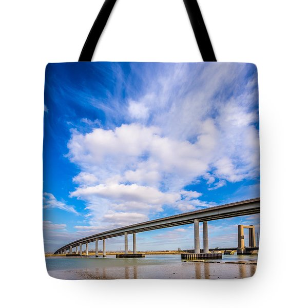 Old And New Bridges Tote Bag