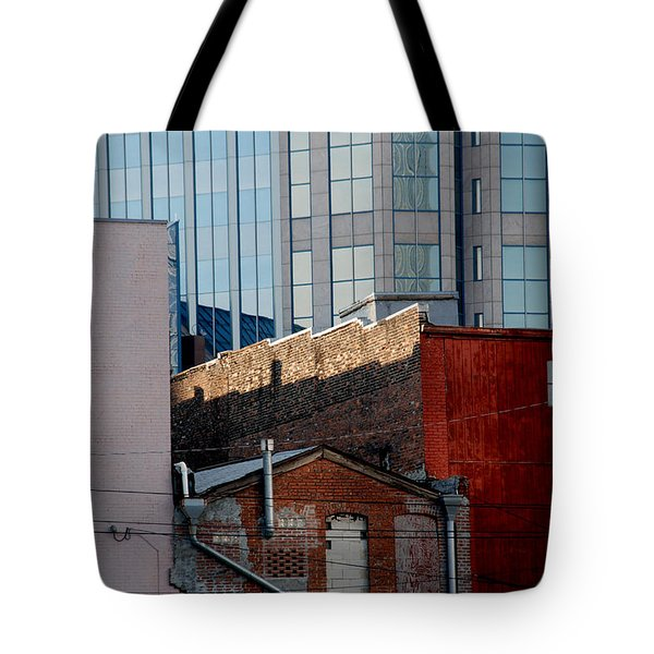 Old And New Close Together Tote Bag by Susanne Van Hulst