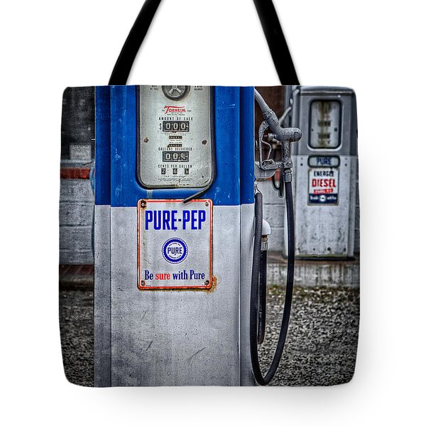 Old And Rusty  Pump  Tote Bag