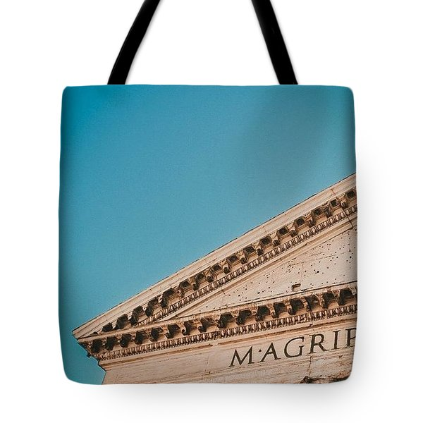 Old Architecture Tote Bag