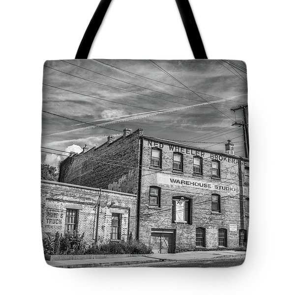 Old Asheville Building Tote Bag