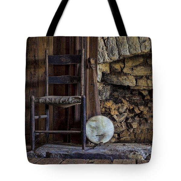 Old Banjo Tote Bag