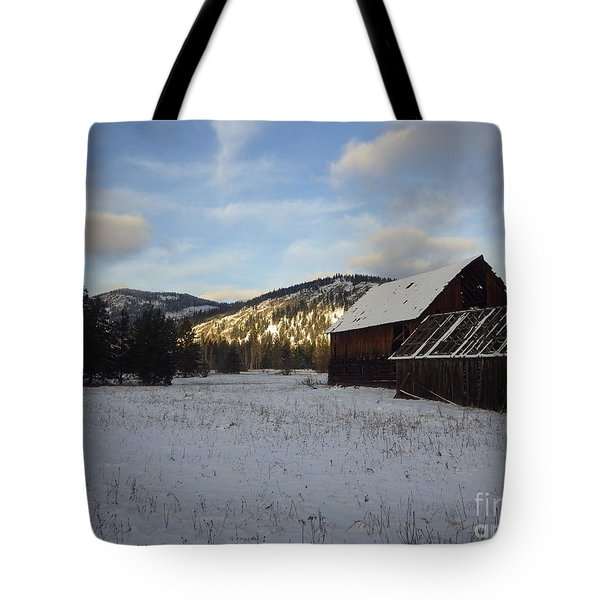 Tote Bag featuring the photograph Old Barn 2 by Victor K