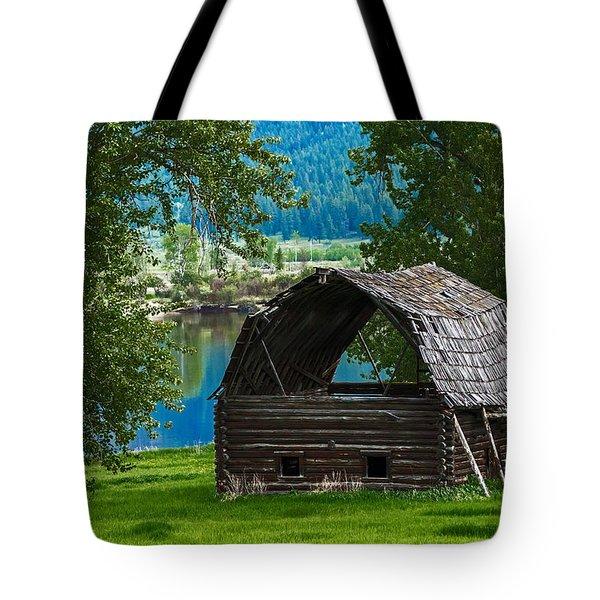 Old Barn 3869 Tote Bag