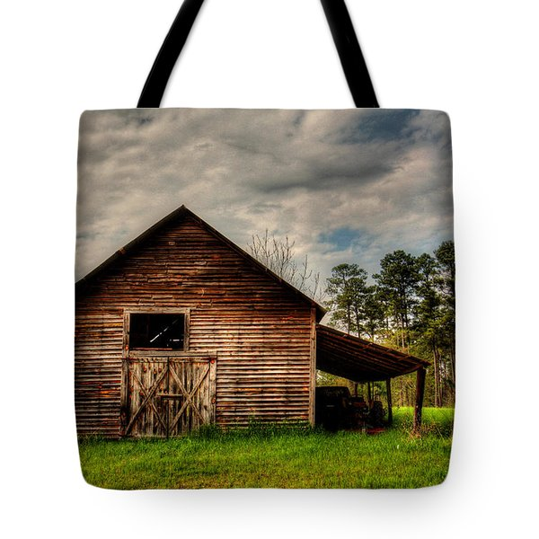 Old Barn Tote Bag by Ester Rogers