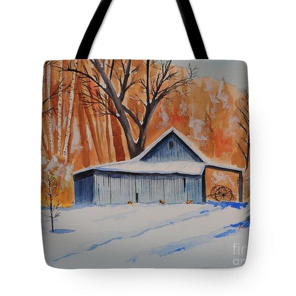 Old Barn I Tote Bag