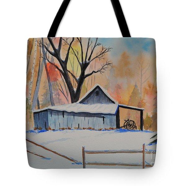 Old Barn II Tote Bag