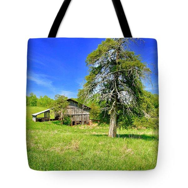 Old Barn, Smith Mountain Lake Tote Bag