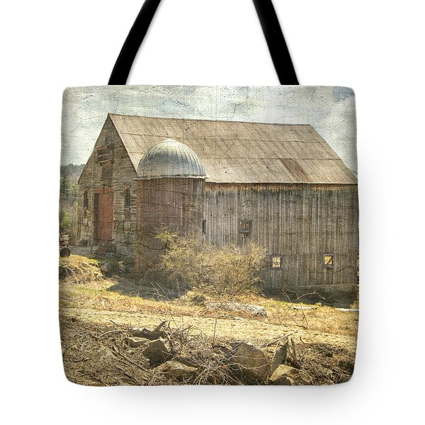 Old Barn Still Standing  Tote Bag