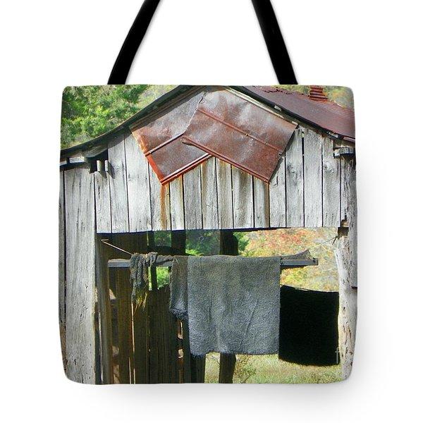 Old Barn Up Close Tote Bag