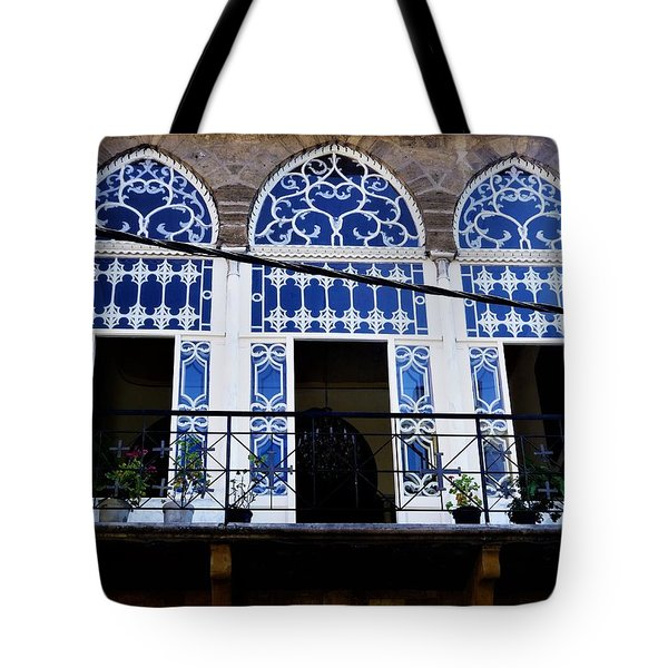 Old Beirut Home  Tote Bag