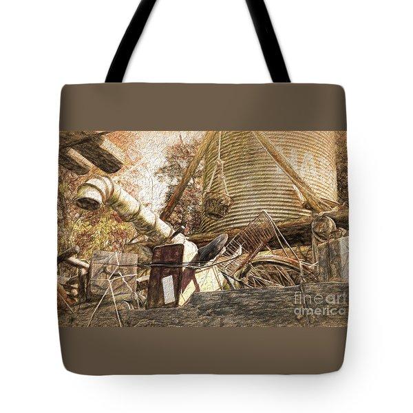 Old Belongings Tote Bag
