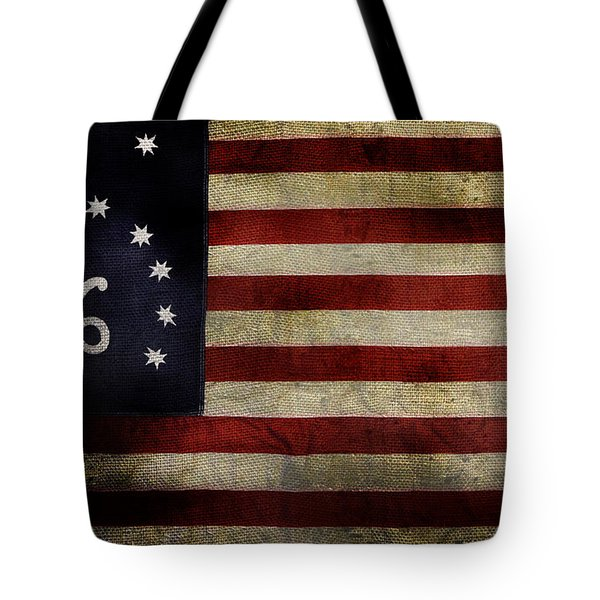 Old Bennington Flag Tote Bag