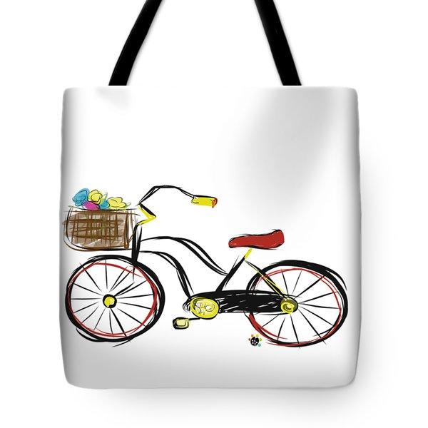 Old Bicycle Tote Bag