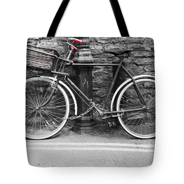 Old Bicycle Tote Bag