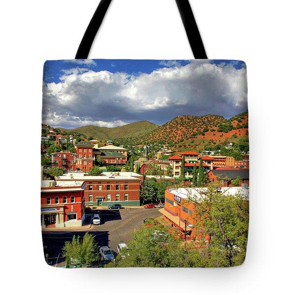 Old Bisbee Arizona Tote Bag