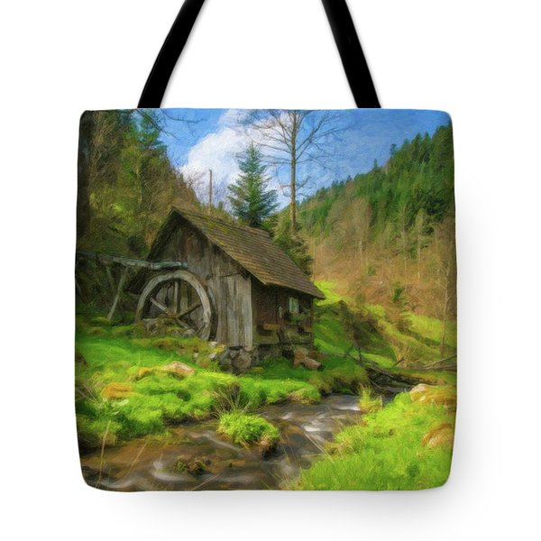 Old Black Forest Mill Tote Bag