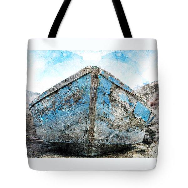 Old Blue # 2 Tote Bag