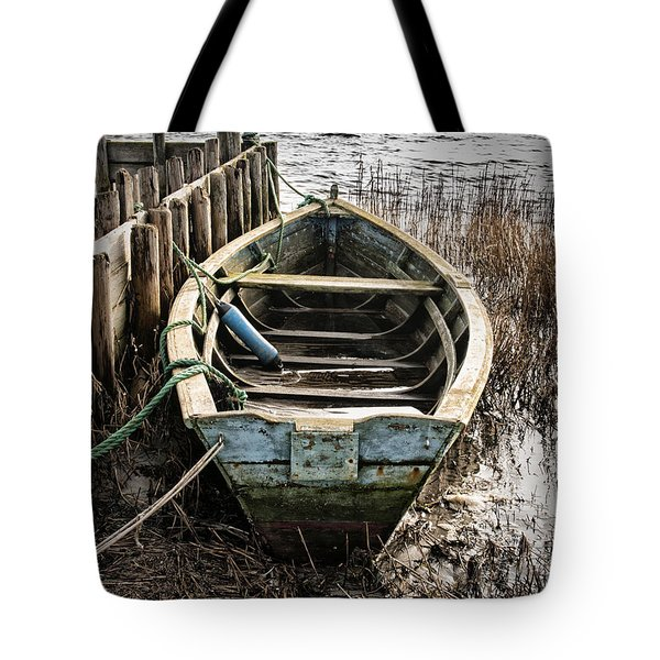 Old Boat Tote Bag by Mike Santis