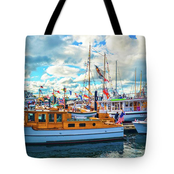 Old Boats Tote Bag