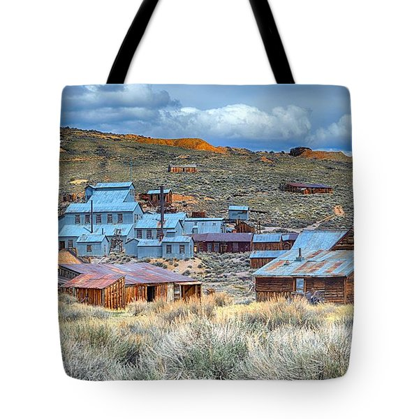 Old Bodie Gold Mining Town Tote Bag