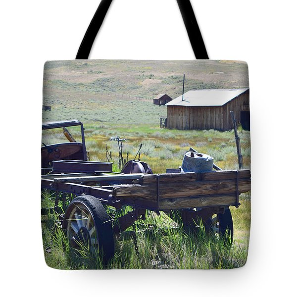Old Bodie Wagon Tote Bag