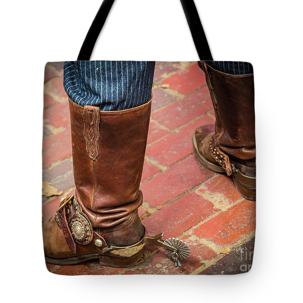 Old Boots Tote Bag
