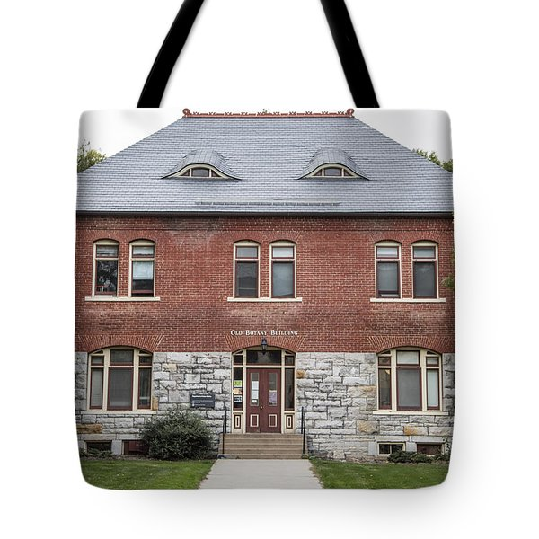 Old Botany Building Penn State  Tote Bag by John McGraw