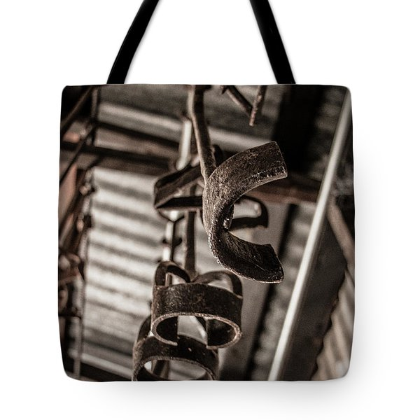 Old Branding Irons Tote Bag