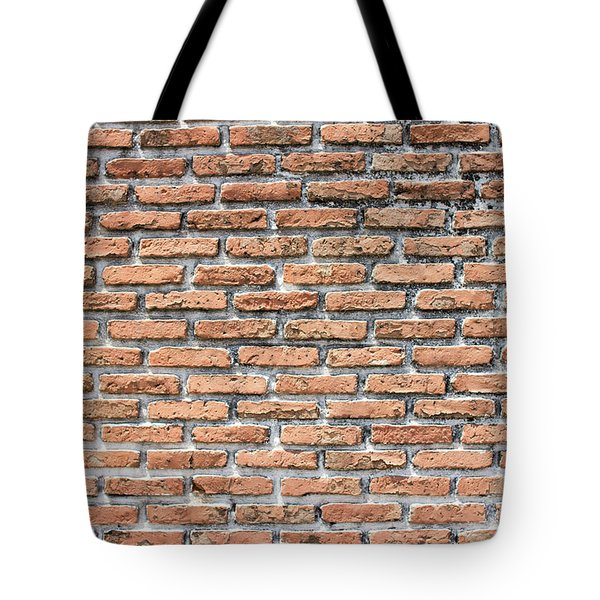 Tote Bag featuring the photograph Old Brick Wall by Jingjits Photography