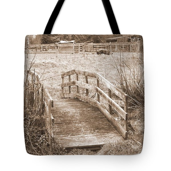 Old Bridge Tote Bag